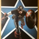Captain America The Chosen Marvel Comic Poster by Travis Charest