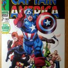 Captain America Thor Black Panther Avengers Marvel Comics Poster by Ron Garney
