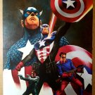 Captain America 600 One Year After Bucky Marvel Comics Poster by Steve Epting