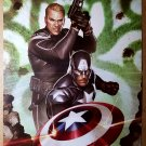 Captain America Hail Hydra Marvel Comics Poster by Adi Granov