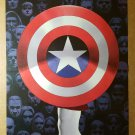 Captain America Avengers Marvel Comic Poster by John Cassaday