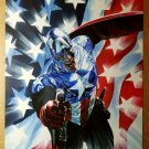 Captain America Flag Marvel Comics Poster by Alex Ross