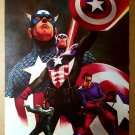 Captain America Marvel Comics Poster by Steve Epting