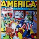 Captain America punch Hitler Marvel Comic Poster by Joe Simon