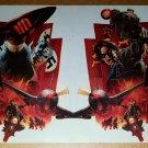 Avengers Captain America Bucky Marvel Comic Poster by Steve Epting