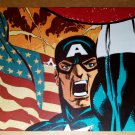 Avengers Captain America Flag Marvel Comics Poster by Tim Sale