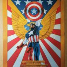 Captain America Marvel Comics Poster by John Cassaday
