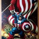 Avengers Captain America Ape Marvel Comics Poster by Frank Cho
