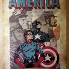 Avengers Captain America Bucky Marvel Comic Poster by Eric Wight