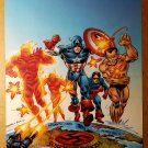 Avengers Captain America Bucky Namor Marvel Comics Poster by Frank Robbins