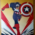 Avengers Captain America Marvel Comic Poster by John Cassaday