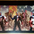 Bucky Captain America Marvel Comics Poster by Steve Epting
