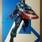 Captain America Avengers 1 Marvel Comics Poster by John Romita Jr