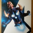 Nova Secret Avengers Marvel Comics Poster by Mike Deodato