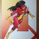 Spider-Woman Avengers 2 Marvel Comics Poster by John Romita Jr
