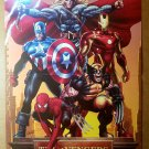 The Avengers 1 Thor Captain America Iron Wolverine Marvel Poster by Greg Land