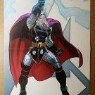 Thor Avengers 5 Marvel Comics Poster by John Romita Jr