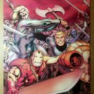 Avengers Prime 5 Thor Iron Man Marvel Comics Poster by Alan Davis