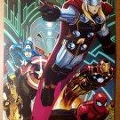 Avengers Thor Spider-Man Wolverine Marvel Comics Poster by John Romita Jr