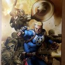 Captain America Super Soldier Steve Rogers Marvel Comics Poster by Carlos Pacheco