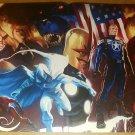 Secret Avengers Nova Thor Black Widow Antman Marvel Poster by Marko Djurdjevic