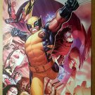 Wolverine Magneto Ms Marvel Spider-Man Marvel Comic Poster by Jimmy Cheung