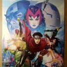 Young Avengers Scarlett Witch Ms Marvel Marvel Comics Poster by Jim Cheung