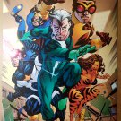 Avengers Academy X-Men Quicksilver Tigra Marvel Comics Poster by Mike McKone