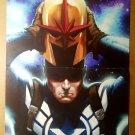 Avengers Captain America Steve Rogers Nova Marvel Poster by Marko Djurdjevic