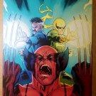 New Avengers Wolverine Dr Strange Iron Fist Marvel Poster by Stuart Immonen