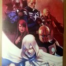 Secret Avengers Black Widow Moon Knight Nova Marvel Poster by Marko Djurdjevic