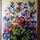 Avengers Classic Hulk Iron Man X-Men Marvel Comics Poster by Arthur Adams