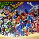 Avengers Hulk Thor Iron Man Beast Marvel Comics Poster by George Perez