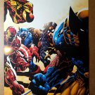 Avengers Iron Man Captain America Wolverine by Marvel Comics Poster Mike Deodato