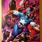 Avengers Captain America Spider Woman Wolverine Marvel Poster by David Finch