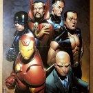 Avengers Illuminati Black Bolt Dr Strange Namor Marvel Comics Poster Jim Cheung