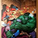 Avengers Thor Hulk Iron Man Namor Ant Man Marvel Comics Poster by Arthur Adams