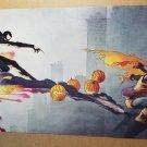 Spider-Man Black Costume Vs Hobgoblin Marvel Comics Poster by Charles Vess