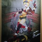 Harley Quinn 7 Bombshell Variant DC Comics Poster by Ant Lucia