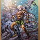 Aquaman 7 Steampunk Variant DC Comics Poster by Richard Horie
