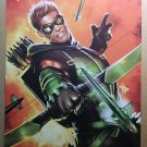 Green Arrow 1 DC Comics Poster by Dave Wilkins