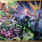 Green Lantern 20 DC Comics Poster by Doug Mahnke Alex Sinclair