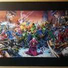 Justice League of America Dark JLA DC Comics Poster by Ivan Reis Joe Prado