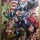 Justice League 5 Superman Wonder Woman Green Lantern Aquaman Batman DC Comics by Jim Lee