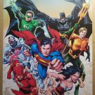 Justice League 1 Superman Wonder Woman Green Lantern Flash Batman DC Comics by Ivan Reis