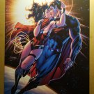 JLA Justice League 12 Variant Superman Kissing Wonder Woman in Space DC Comics by Jim Lee