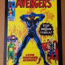 Avengers 87 Origin of Black Panther Marvel Comics Poster by John Buscema
