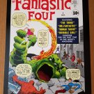 Fantastic Four 1 Marvel Comic Poster by Jack Kirby