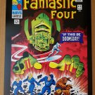 Fantastic Four Silver Surfer Galactus Marvel Comics Poster by Jack Kirby