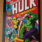 Incredible Hulk 181 1st Wolverine Marvel Comics Poster by Herb Trimpe
